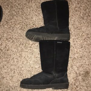 Bear paw Black Boots 9